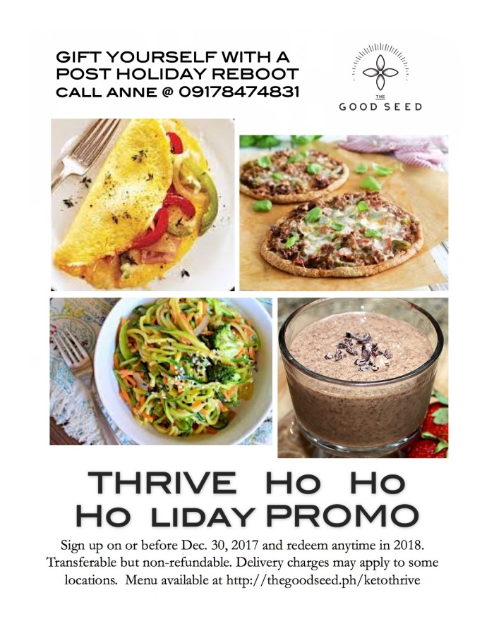Thrive Holiday Promo